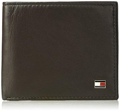 Tommy Hilfiger Men's Leather Wallet - RFID Blocking Slim Thi
