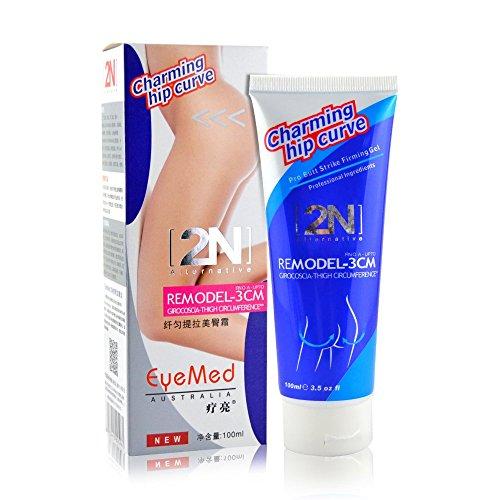 2n hanche Décrochez le bout à bout l'élargissement Cellulite élimination fesse crème amélioration rapide 100g