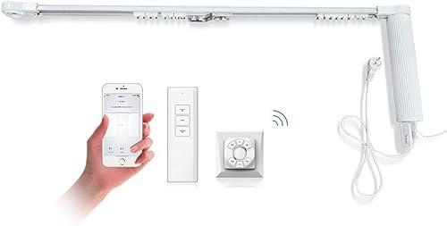 OlideSmart DIY WiFi Smart Automatic Curtain Motor Track System