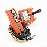 LUBAN Wireless Industrial Remote Controller Electric Hoist Remote Control Winding Engine Sand-Blast Equipment F21-2S (220V)