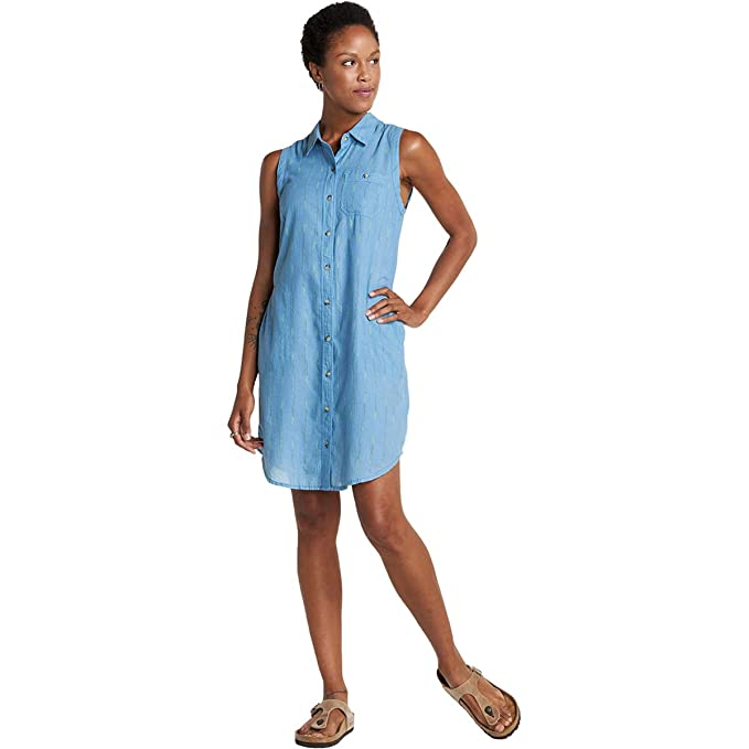a491a994d65 Toad&Co Women's Indigo Ridge Sleeveless Dress at Amazon Women's Clothing  store: