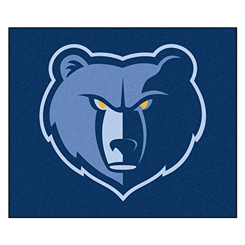 FANMATS 19450 NBA - Memphis Grizzlies Tailgater Rug , Team Color, 59.5''x71'' by Fanmats