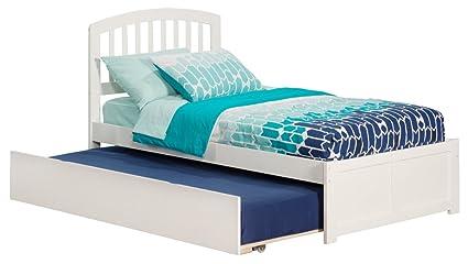 5afa3e5be33c6 Atlantic Furniture AR8822012 Richmond Platform Bed with Twin Size Urban  Trundle