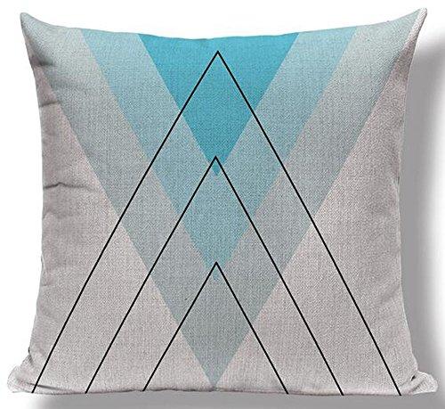 Elephant Mountains Cotton Cushion Decorative