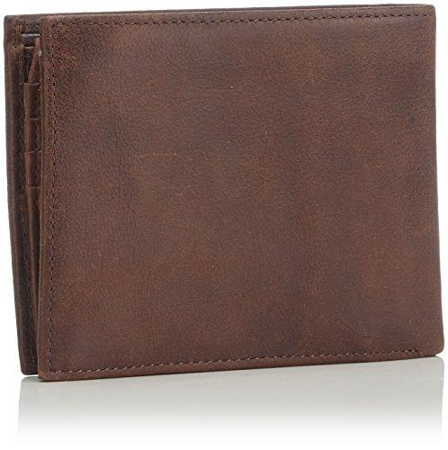 Coin Hilfiger Wallets Brown and Cc Braun Pocket Brown Johnson Flap Tommy 041 Men's 1pOqTZT4