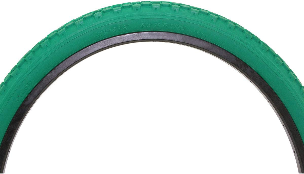 Alta Bicycle Tire Duro 26 x 2.125 Color Bike Tire Knobby Style Pattern