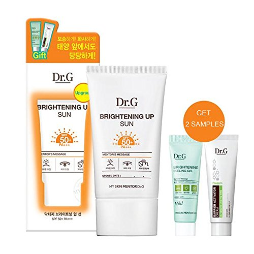 Dr.G Gowoonsesang Brightening Up Sun SPF50+ PA+++ Special Edition with Brightening Peeling Gel and Barrier Activator Cream Brightening Sunscreen