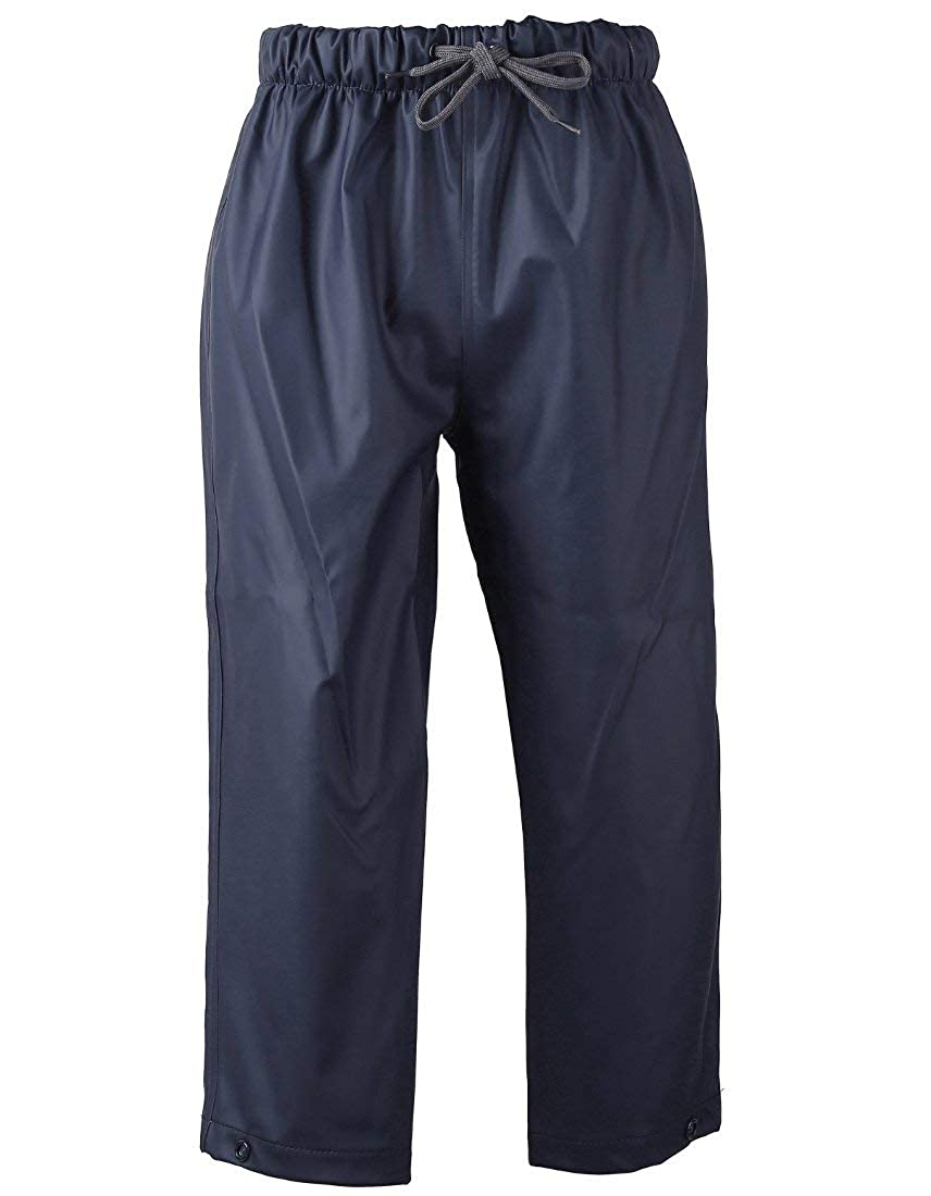 Didriksons Midjeman 2 Kids Waterproof Pants - Navy