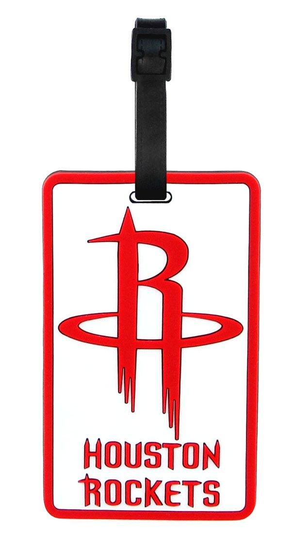 Houston Rockets - NBA Soft Luggage Bag Tag B003NTRHG0