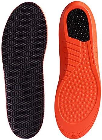 Einlegesohle, für Herren und Damen, stoßdämpfend, atmungsaktiv, Orthopädische Gel-Schuheinlage, 1 Paar