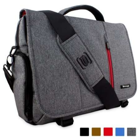 Snugg 15 6 Inch Laptop Bag Grey