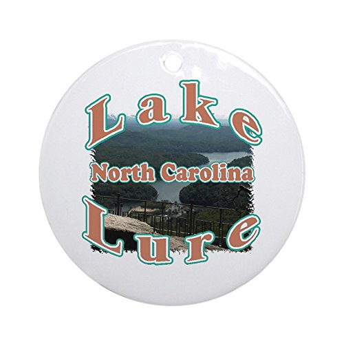 CafePress Lake Lure Ornament (Round) Round Holiday Christmas Ornament]()