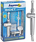Aquaus 360° Premium Handheld / Hand Held Bidet for Toilet with EZ Pressure Control - Made in the USA - NSF Certified - 3 Year Warranty