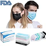#8: Surgical Mask Disposable Medical Face Mask Individually Wrapped for Flu Dust Pollen(60 Packs)
