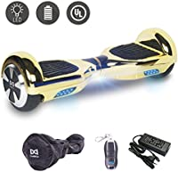Cool&Fun 6,5 pouces Hoverboard Self Balance Scooter Smart Sk