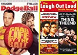 Skylark Tonight Triple Comedy The Interview + This is the End DVD Set + Dodgeball Seth Rogan 3 feature Wild bundle