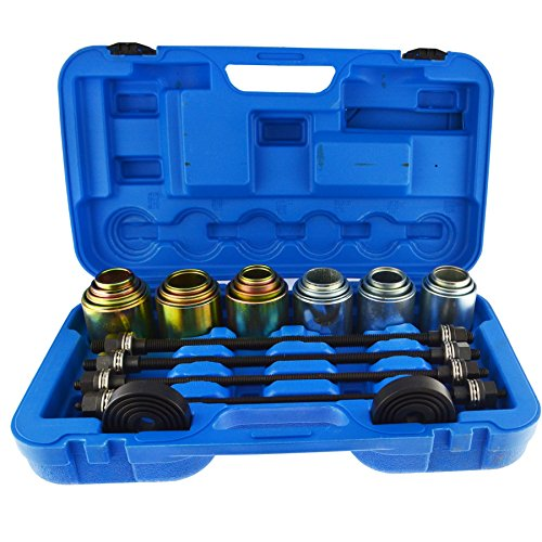 Universal Press And Pull Bearing Bush Sleeve Kit Remover Installer 26pcs Bergen