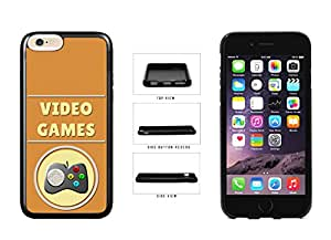 Video Games With Gaming Pad TPU Rubber SILICONE Phone Case Back Cover For Apple iPhone 6 Plus (5.5 Inches Screen) comes with Security Tag and myPhone Designs(TM) Cleaning Cloth