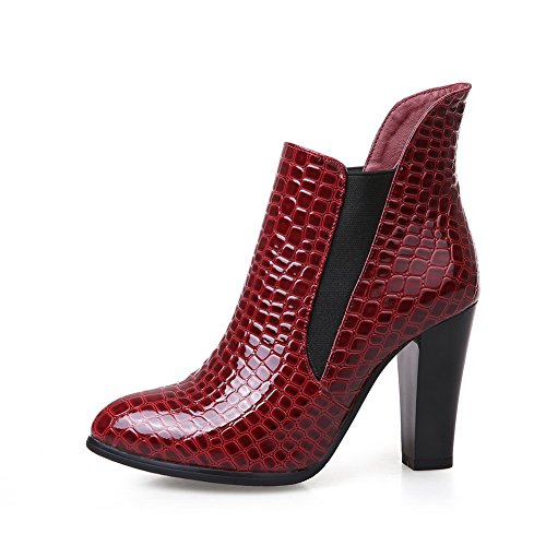 Donna Sandali Red Con amp;n Zeppa A S6Igx4qfw