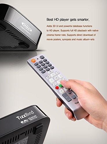 Comparer TIZZBIRD TV BOX F10 NOIR 2TO