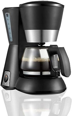 LNNZPL Filtro de café de la máquina, máquina de café de Filtro de la manija, 3-5 Copa Cafetera programable, 600W, Negro Cafetera Agradable y fácil de Limpiar: Amazon.es: Hogar