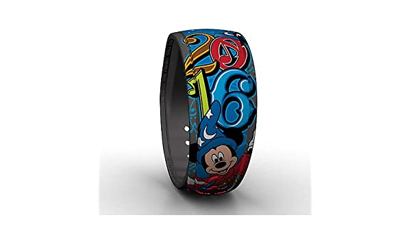 Amazon.com : Walt Disney World Parks Sorcerer Mickey Mouse MagicBand - 2016 - Blue : Everything Else