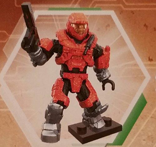 [Mega Bloks Halo - Echo Series - Mini Blind Bag Figure - Orange Mark V Spartan] (Spartan Mark)