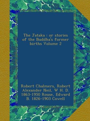 The Jataka : or stories of the Buddha's former births Volume 2