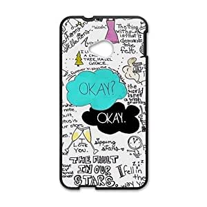 The Fault in Our Stars Okay? Okay Printed Cell Phone Case for HTC One M7
