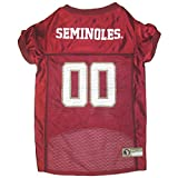 Mirage Pet Products Florida State Seminoles Jersey for Dogs and Cats, Medium
