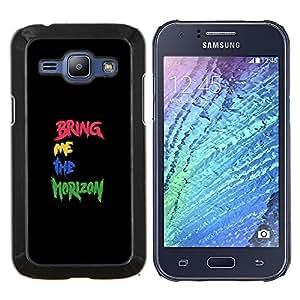 GIFT CHOICE / Teléfono Estuche protector Duro Cáscara Funda Cubierta Caso / Hard Case for Samsung Galaxy J1 J100 // Cute Kiss Me Couple //