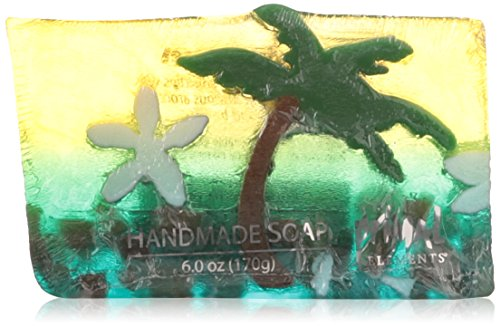 (Primal Elements Wrapped Bar Soap, Paradise Sunset, 6.0-Ounce)