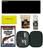 AGI DVD Thompson Contender Pistols Disassembly + Ultimate Arms Gear Work Bench Gun Mat + Cleaning Chamber 17pc Brushes Swab Tips & Patches + Gun Wash + Silicone Cloth + Wipes
