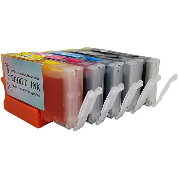 F-INK - Cartucho de Tinta Recargable y Comestible para ...