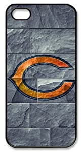 LZHCASE Personalized Protective Case For Samsung Note 3 Cover NFL Chicago Bears Logo in Stone Background