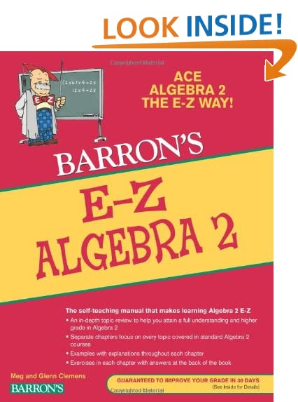 Algebra II: Amazon.com