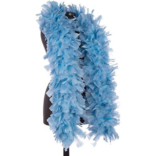 DreamAngels Star Blue - Periwinkle 150 Gram Turkey Feather Boas