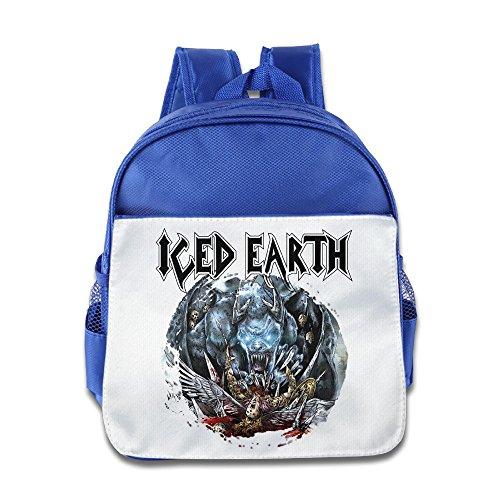 Ysov Iced Earth Toddler Boys Girls Pre School School Bag RoyalBlue