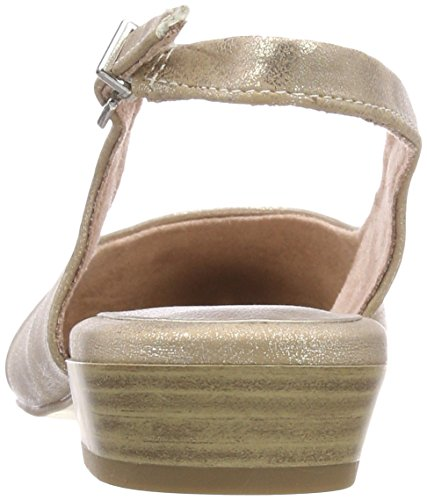Back rose 29402 Metallic Women''s Sling Tamaris 952 Pink Sandals wpZax1q