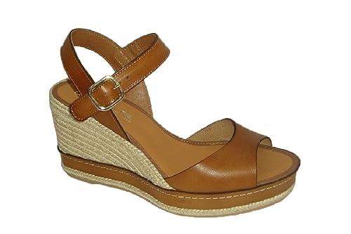 casteller 568, Alpargata Vaqueta Roble, Hebilla.: Amazon.es: Zapatos y complementos