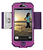 Nathan SonicBoom 5 Armband, Fluoro Fuchsia/Imperial Purple
