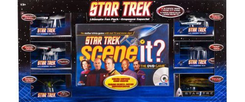 Star Trek scene it? Ultimate Fan Pack - The DVD Game by Mattel