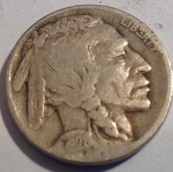 1928-D Buffalo Nickel In Very Fine