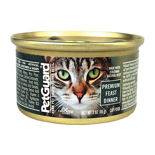 Petguard Cat Premium Feast, 3 oz