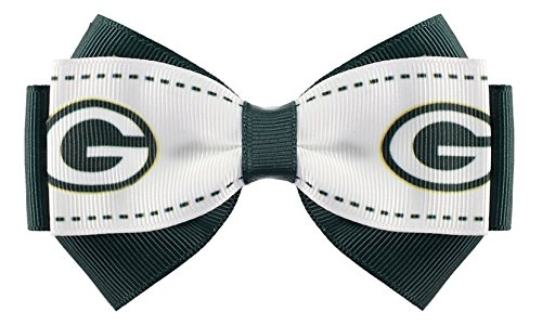 NFL Green Bay Packers 2-Tone Bow Hair Clip