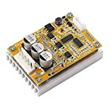 DROK BLDC DC 5-36V Brushless Motor Control Board Motor Driver Regulator Monitor 350W High Power DC Motor Speed Controller Module with Heat Sink, Control Switch