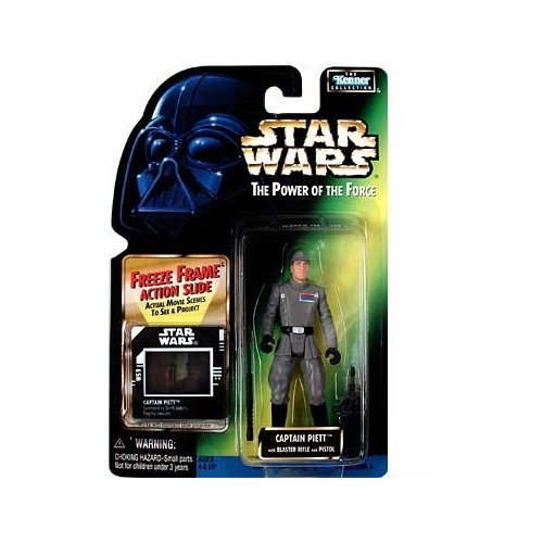 Star Wars Power of the Force Freeze Frame Captain Piett Action Figure by Star Wars
