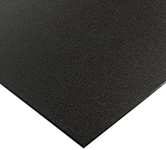 Utility Grade Marine Board Hdpe High Density Polyethylene Plastic Sheet 1 2 X 12 X 24 Black Color Textured Amazon Com Industrial Scientific