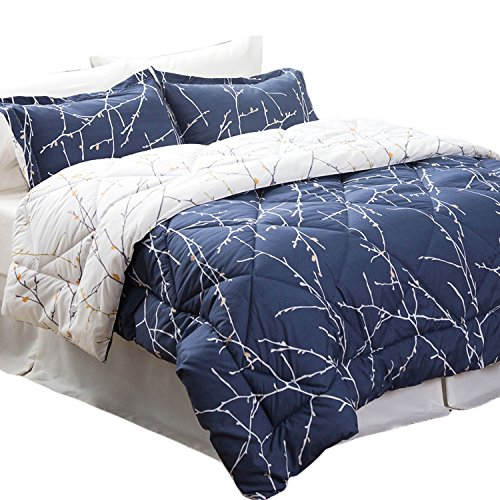 Bedsure 6 Piece Comforter Set Twin Size (68