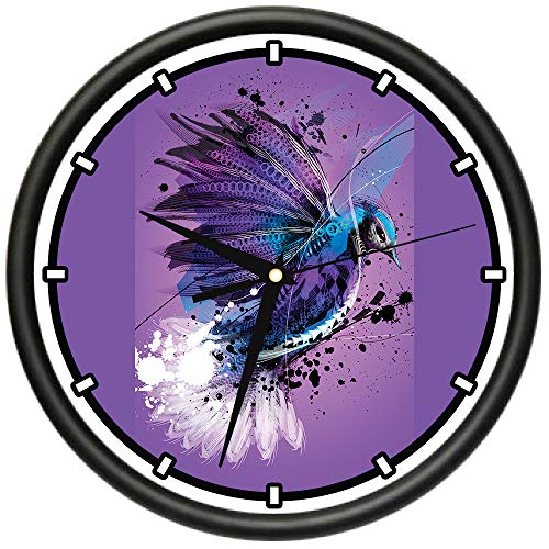 SignMission Blue Jay Design Wall Clock | Precision Quartz Movement | Décor for School Class Office Bedroom Decoration Blue Jays Wall Clock